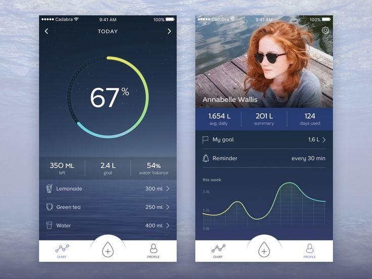 minimal app design