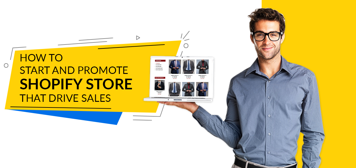 how to start and promote shopify store