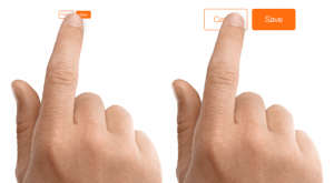 Keep Adequate space between call-to-action buttons.