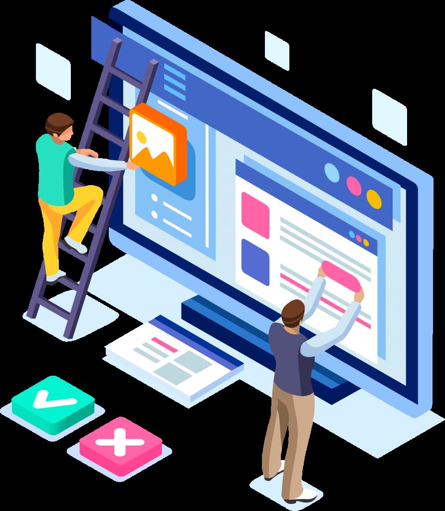 launch a web application