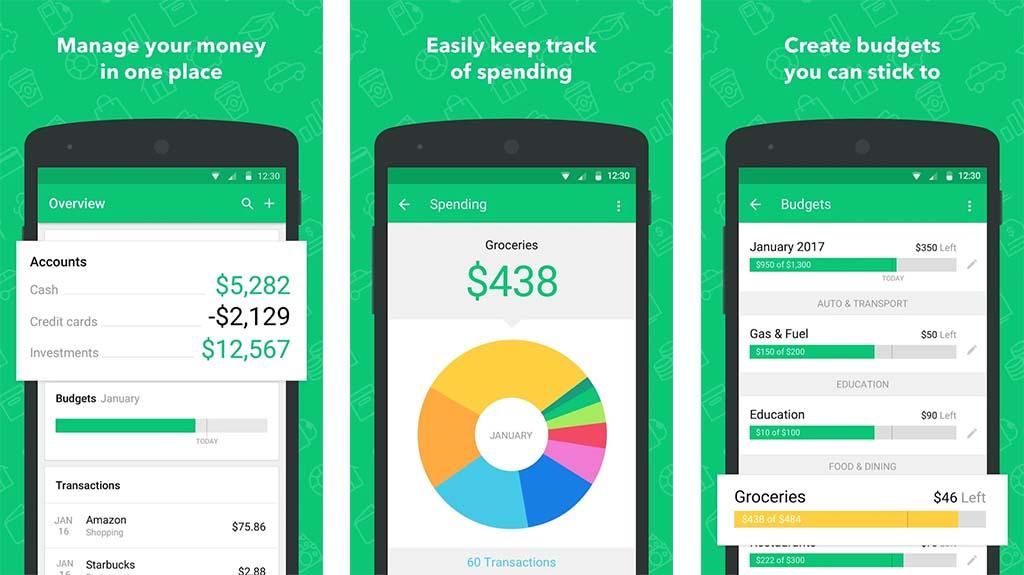 Mint Expense Tracker
