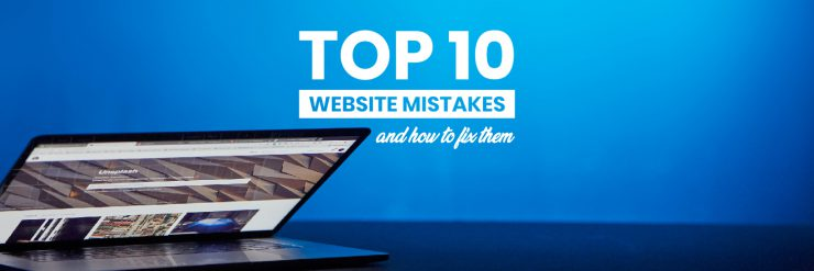 website design mistakes and their solution