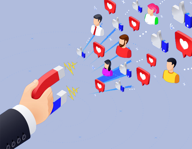 social media marketing attract more potential leads.